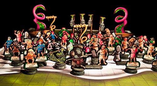 Gathering of the Marked Paper Minis